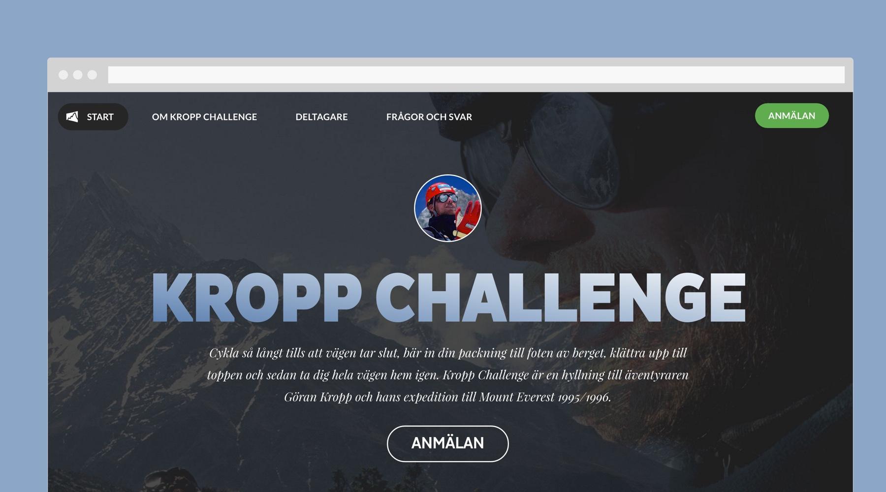 Kropp Challenge