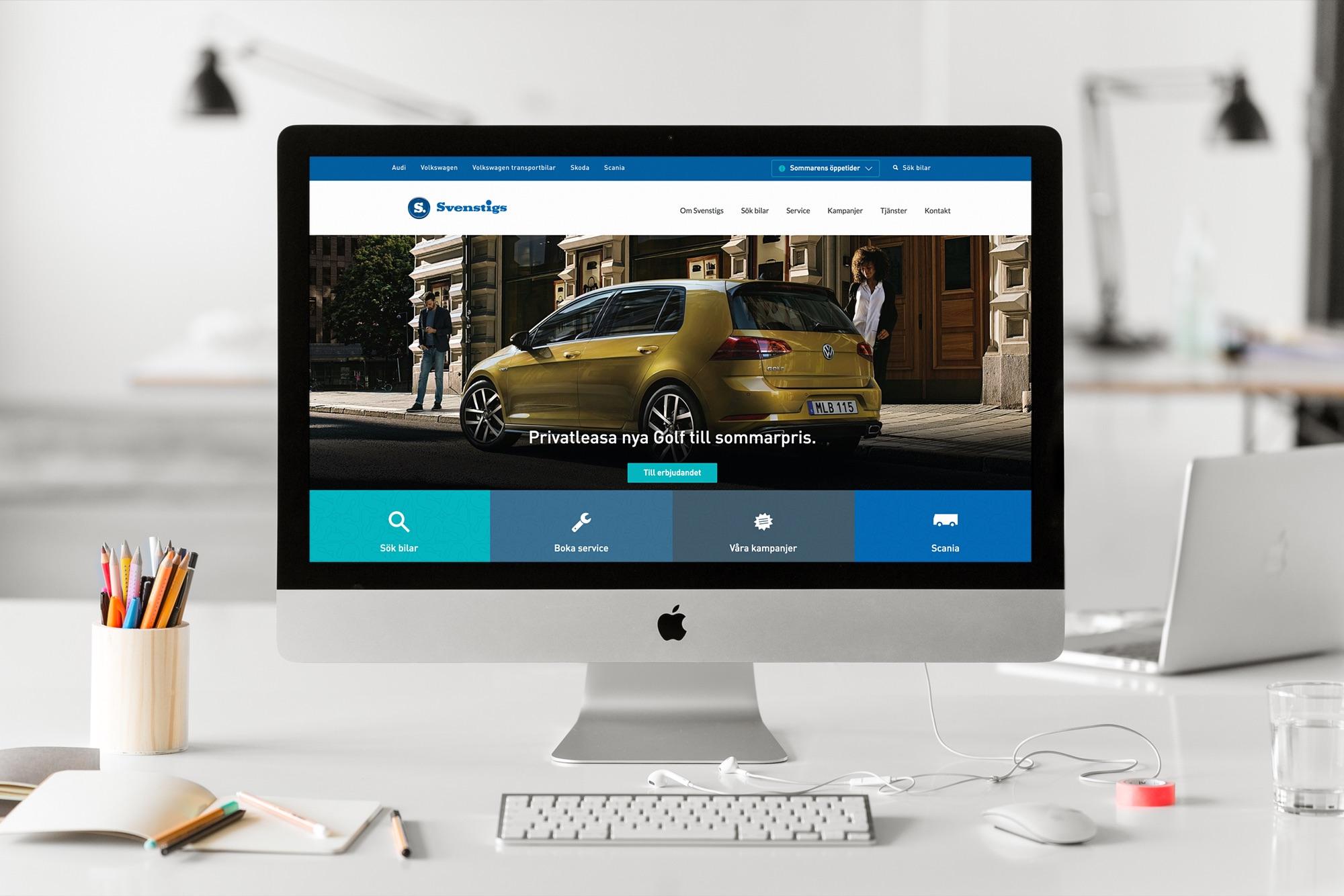 Svenstigs website